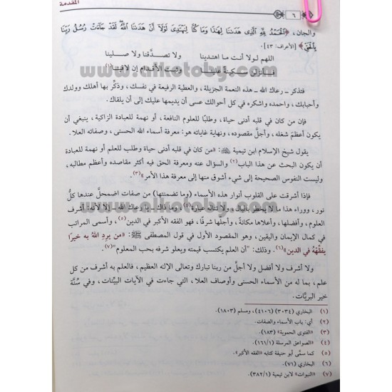التعاليق العلا في شرح أسماء الله الحسنى وصفاته العلا