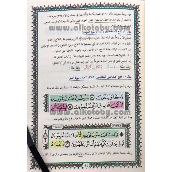 الحفظ الميسر طريقة مبتكرة لتسهيل حفظ القرآن الكريم باستخدام الروابط اللفظية والمعنوية والموضوعية